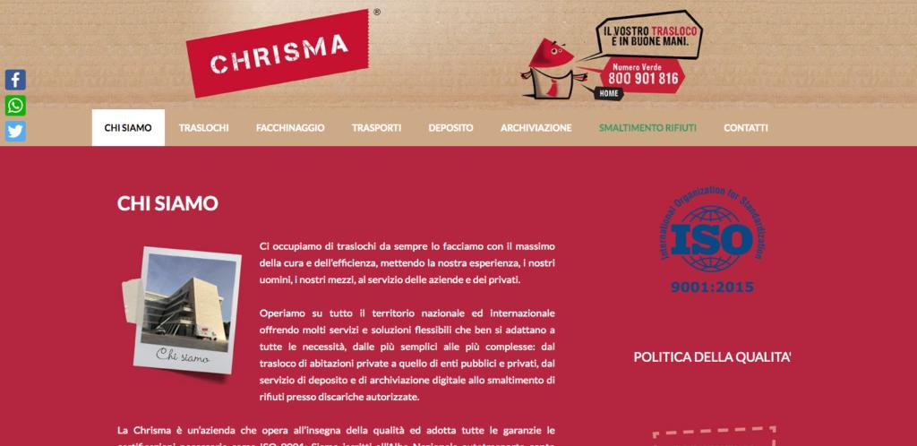 Traslochi Roma - Chrisma Srl Numero Verde 800 901 816