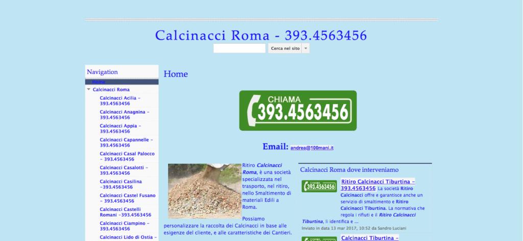 Calcinacci Roma 393 4563456