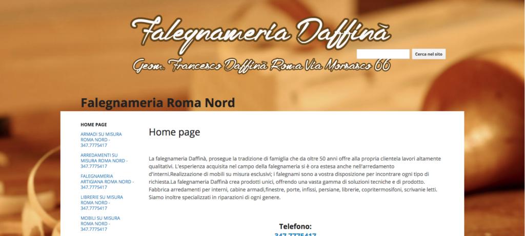 Falegnameria Roma Nord