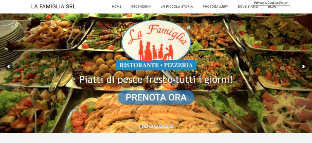 La Famiglia Srl Ristorante Pizzeria