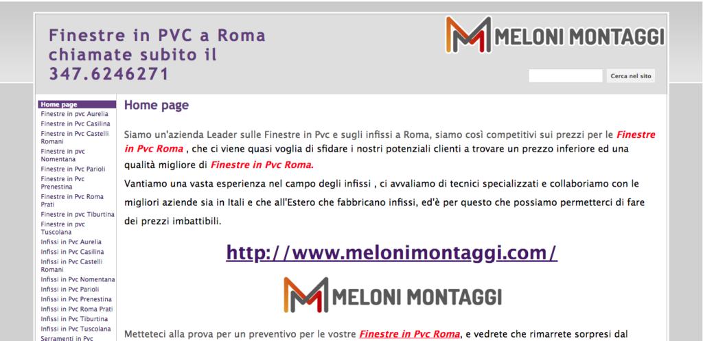 Finestre in PVC a Roma chiamate subito il 347 6246271