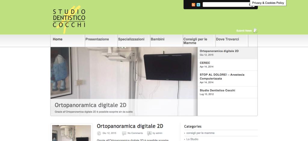 Dott Cocchi Dentista Vermicino