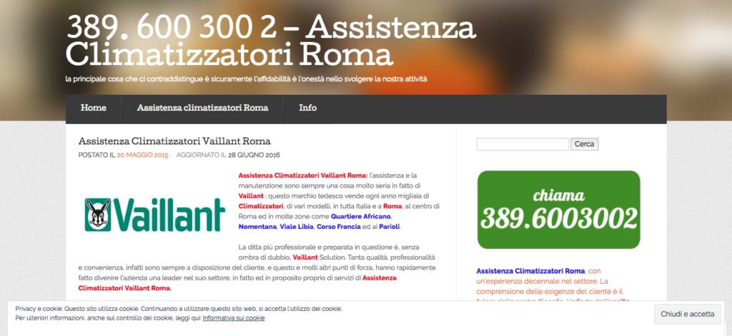 389 600 300 2 Assistenza Climatizzatori Roma