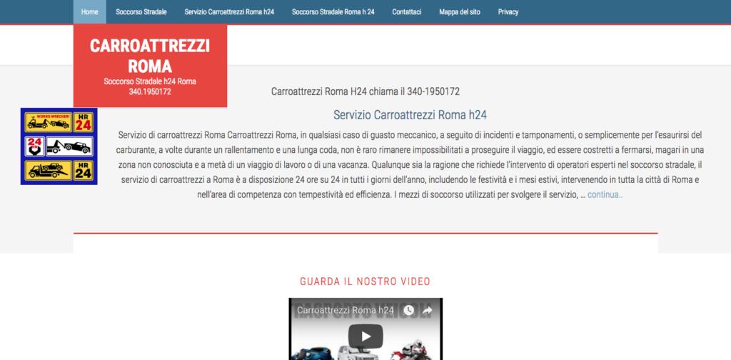 Carroattrezzi Roma Soccorso Stradale h24 Roma 340 1950172