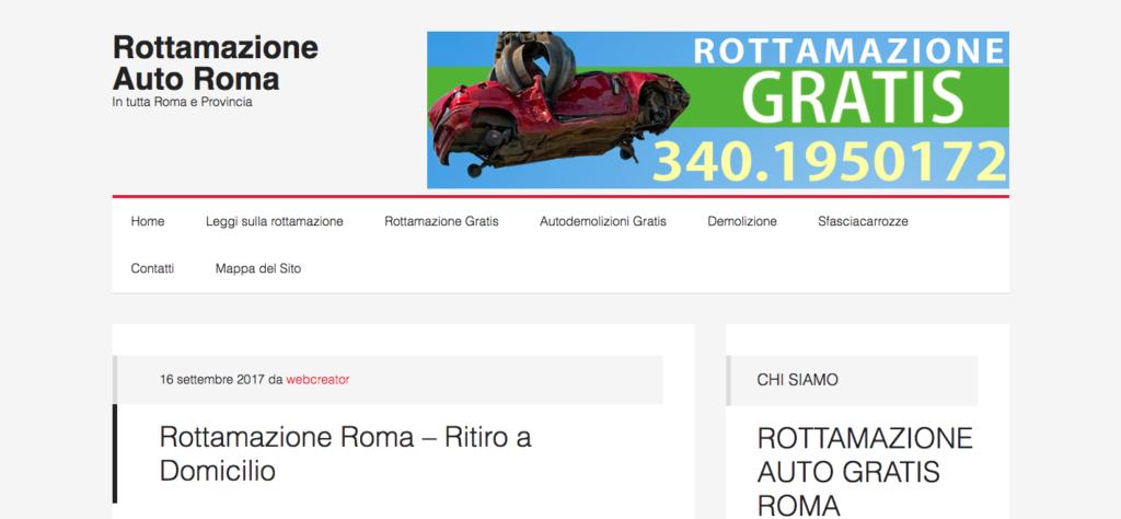 Rottamazione Auto Roma In tutta Roma e Provincia