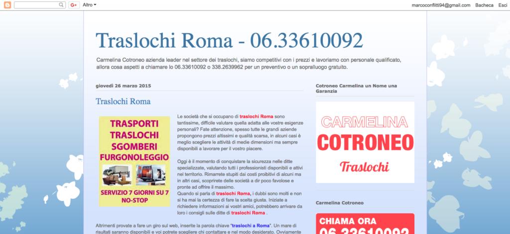 www.traslocarearoma.blogspot.com