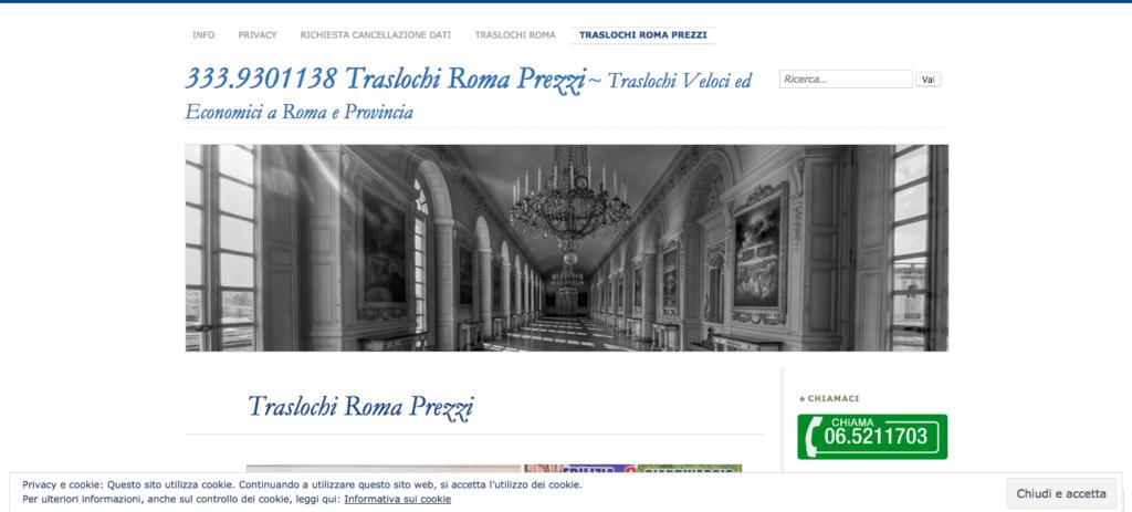333 9301138 Traslochi Roma Prezzi Traslochi Veloci ed Economici a Roma e Provincia