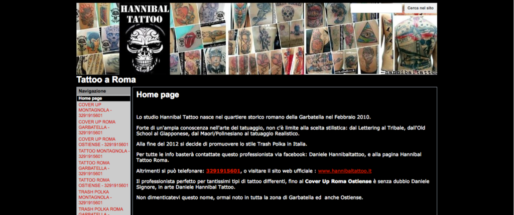 Tattoo a Roma