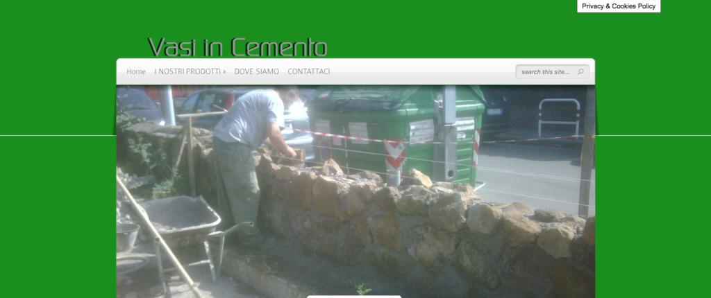 Vasi in Cemento a Roma Solo un altro sito WordPress