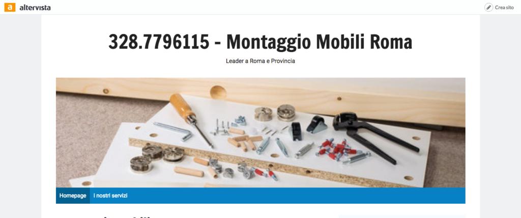 Montaggio Mobili Roma 328 7796115 328 7796115 Montaggio Mobili Roma