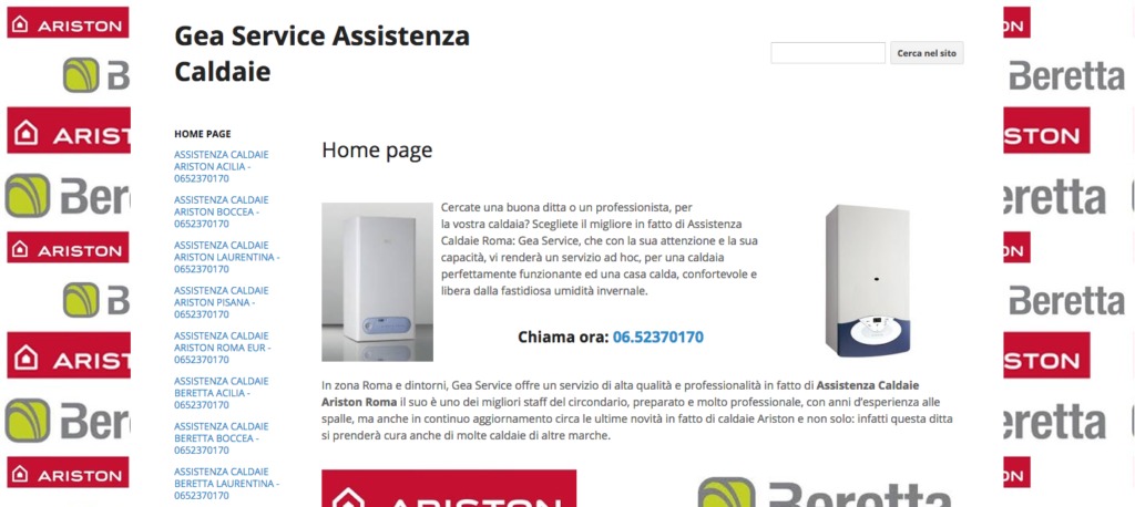 Gea Service Assistenza Caldaie