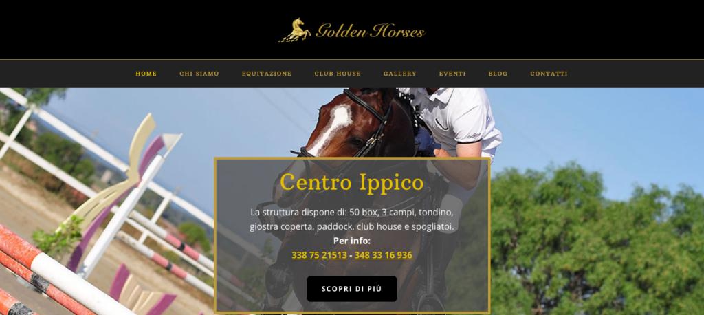 Golden Horses Scuola Di Equitazione Roma
