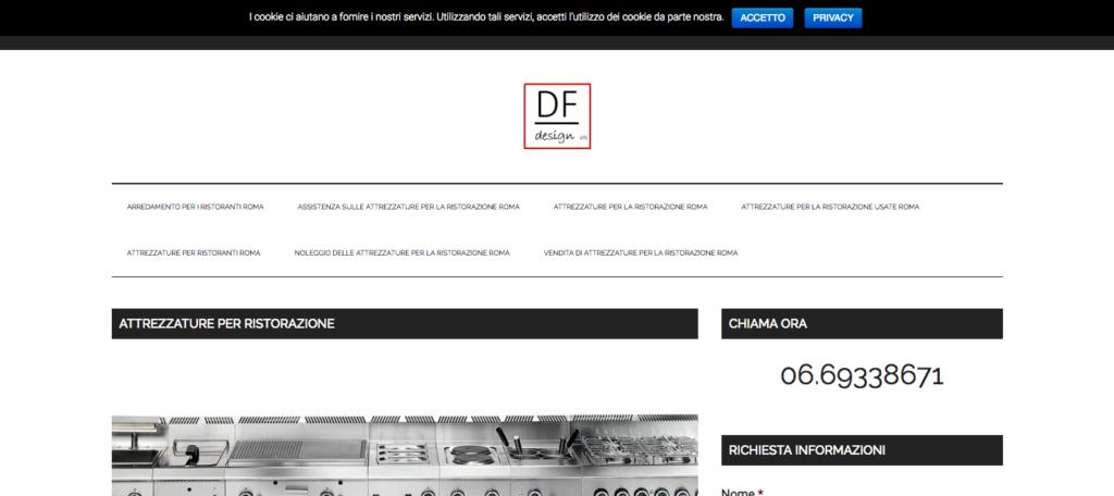 Attrezzature per Ristorazione Roma DF Design