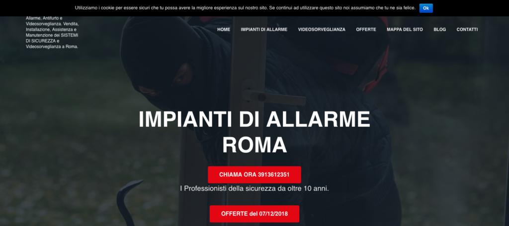 IMPIANTI DI SICUREZZA ROMA Impianti Allarme Roma