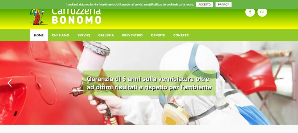 Carrozzeria Bonomo Convenzioni Assicurative Casilina e Prenestina