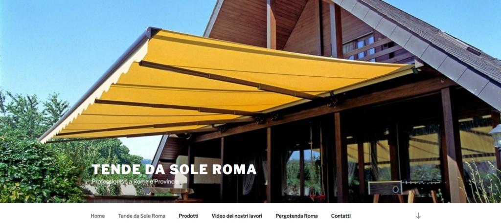 Tende Per Esterni Roma.Tende Da Sole Roma Archivi Agenzia Web Solution Group