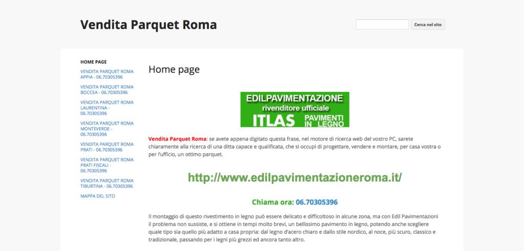 Vendita Parquet Roma