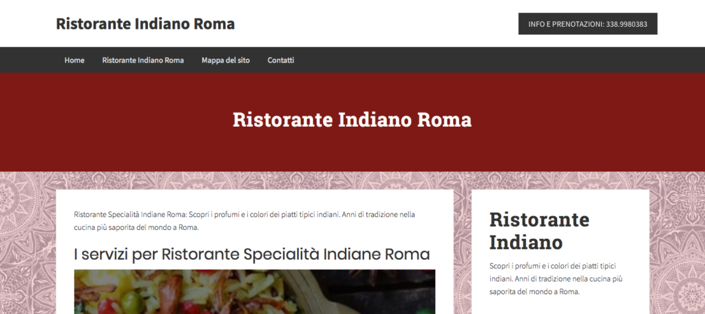 www.ristoranteindianoroma.eu