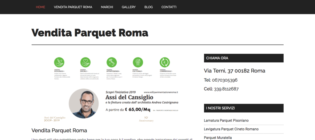 www.venditaparquetroma.it