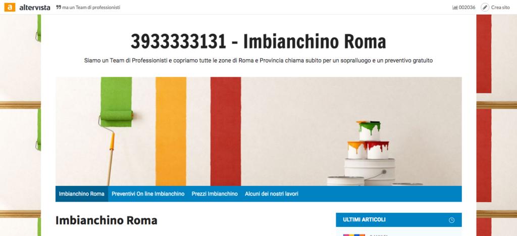 Imbianchino Roma 3933333131 - Imbianchino Roma