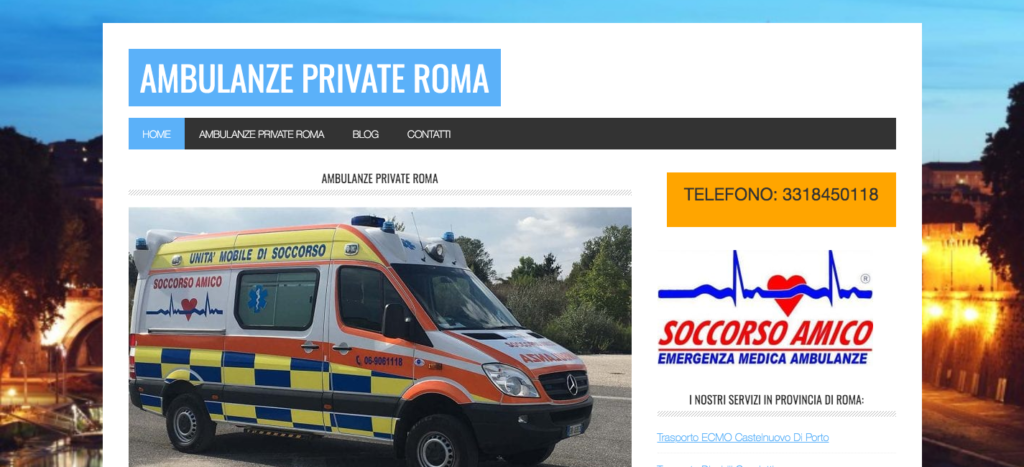 Ambulanze Private Roma - Servizio Ambulanze Private (1)