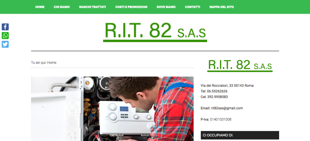 R I T 82 s a s - Termotecnica dal 1982