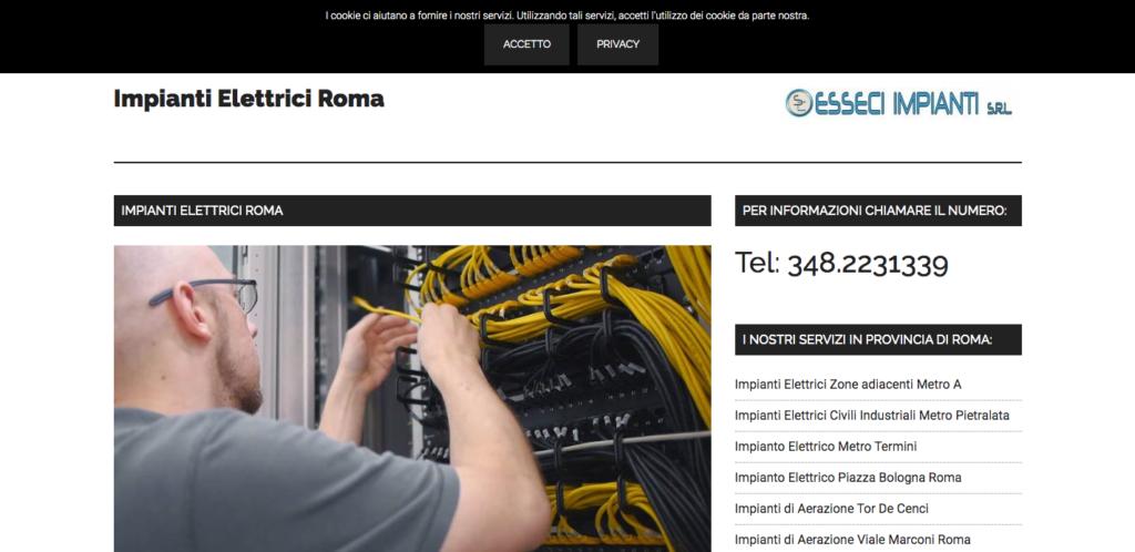 Impianti Elettrici Roma - Installazione e Manutenzione di impianti elettrici civili ed industriali a Roma