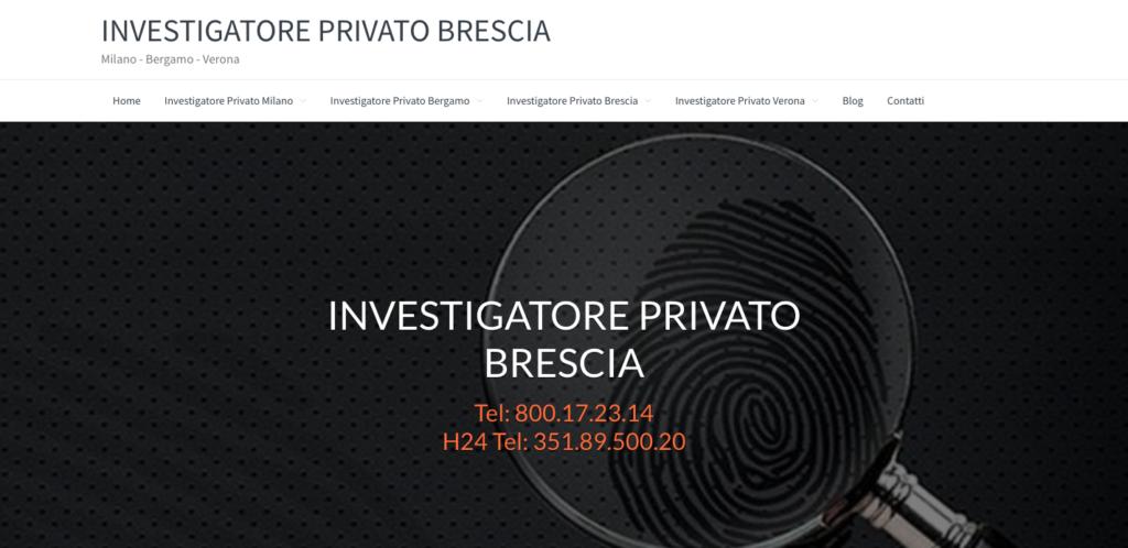 Investigatore Privato Brescia - Milano - Bergamo - Verona